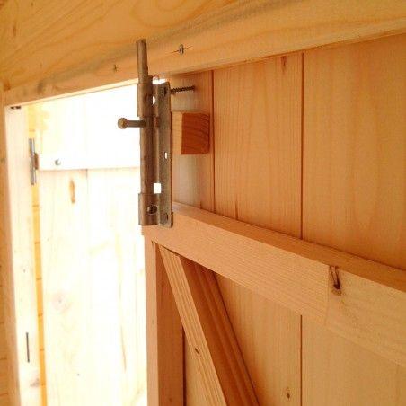Armadio in legno per esterno modello Kerti 18mm, 200 x 90 cm, 1.20m²