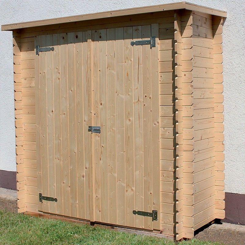 Armadio in legno per esterno modello Kerti