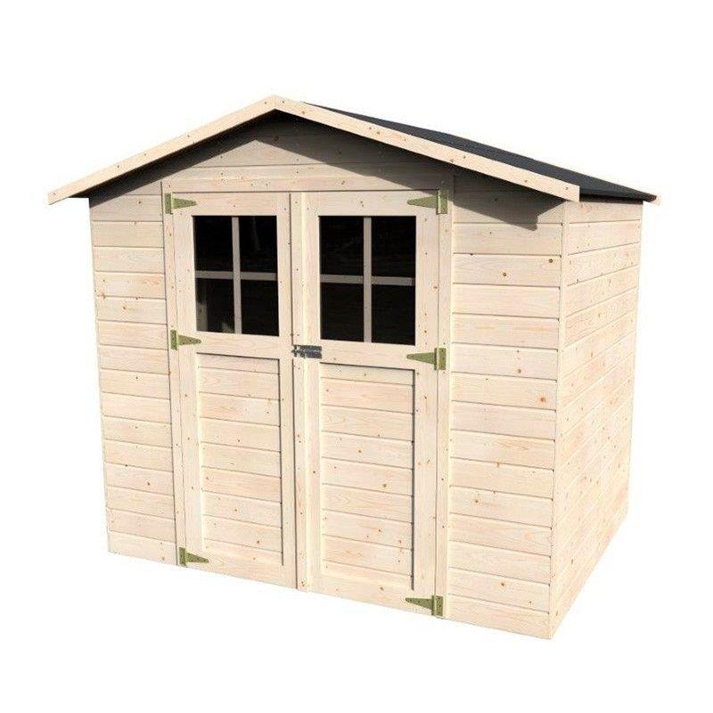 Casetta di legno grezzo Lodeo. 12 mm, 210 x 160 cm, 3.4 m²