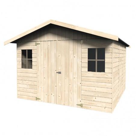 Casetta da giardino in legno Solano 16 mm, 274 x 281 cm, 7,7 m²