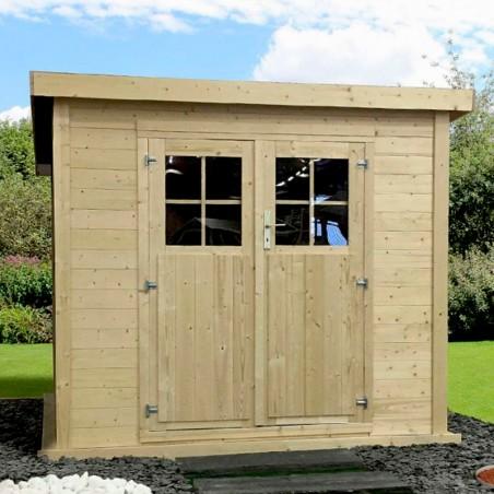 Casetta da giardino in legno Tailon 19 mm, 230 x 233cm. 5,36m²
