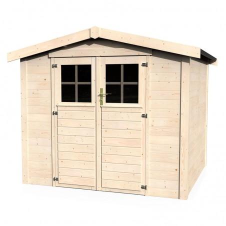 Casetta da giardino in legno Mireia 28 mm, 230 x 217 cm, 4,99 m²