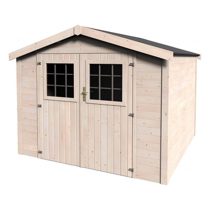 Casetta in legno Turenne 270 x 275 cm.