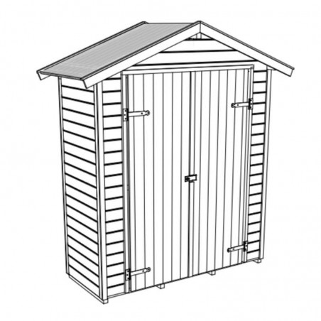 Casetta di legno Sam