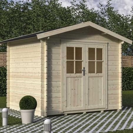 Casetta di legno Lia 250 x 250 cm
