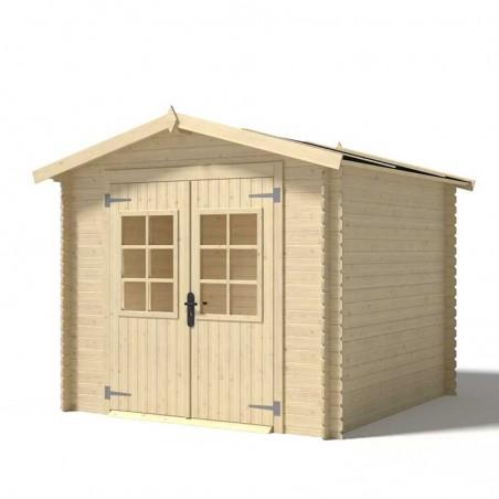 Casetta di legno Viola 19mm, 246 x 300 cm, 6.23m²