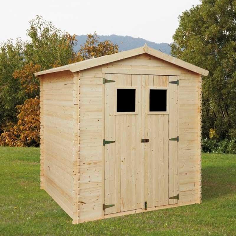 Casetta di legno Giulia 19mm, 200 x 200 cm, 3.4 m²