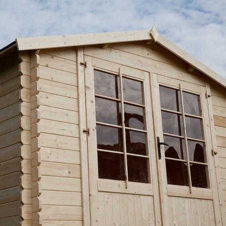 Casetta di legno Mary 28mm, 300 x 300 cm, 9 m²
