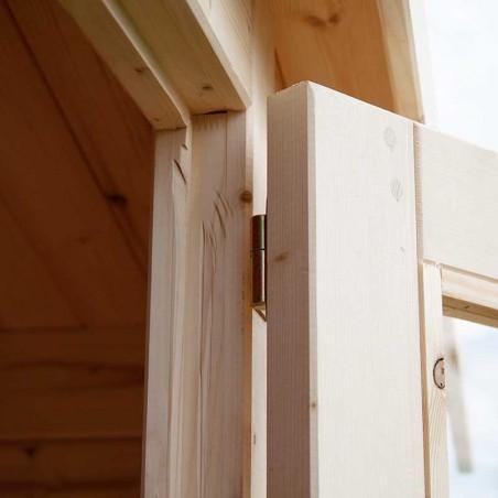 Porta casetta di legno Mary 28mm, 300 x 300 cm, 9 m²