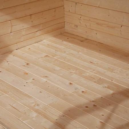 Pavimento di legno per la casetta Cleo