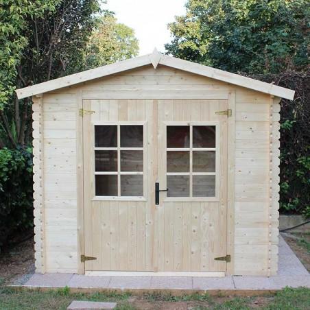 Casetta di legno Sara 19mm, 246 x 200 cm, 4.92m²