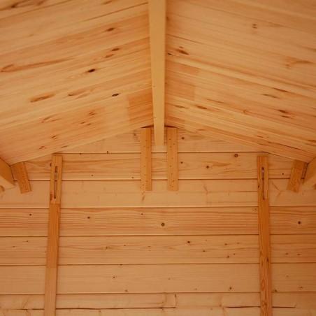 Interior casetta di legno Sara 19mm, 246 x 200 cm, 4.92m²