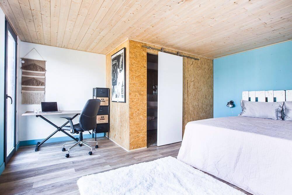Casetta in legno con wc