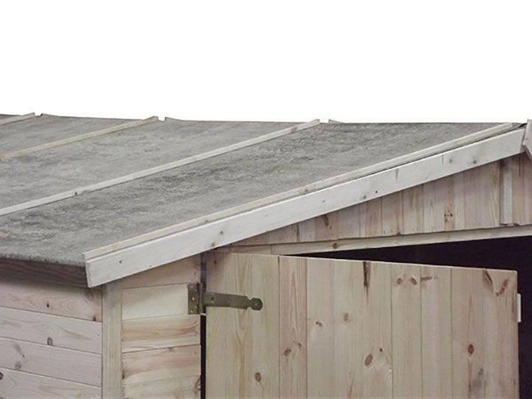 Tetto garage di legno Agave