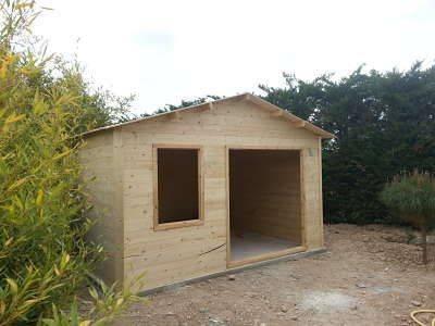 Installazione casette in legno