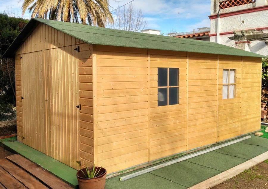 Garage in legno Hortum