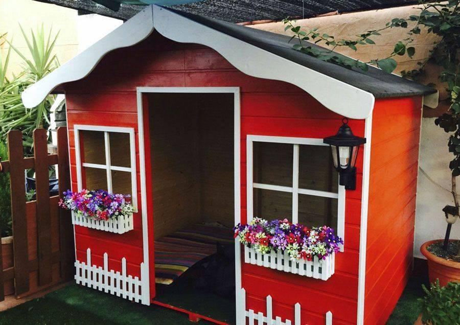 Case di legno per i bimbi