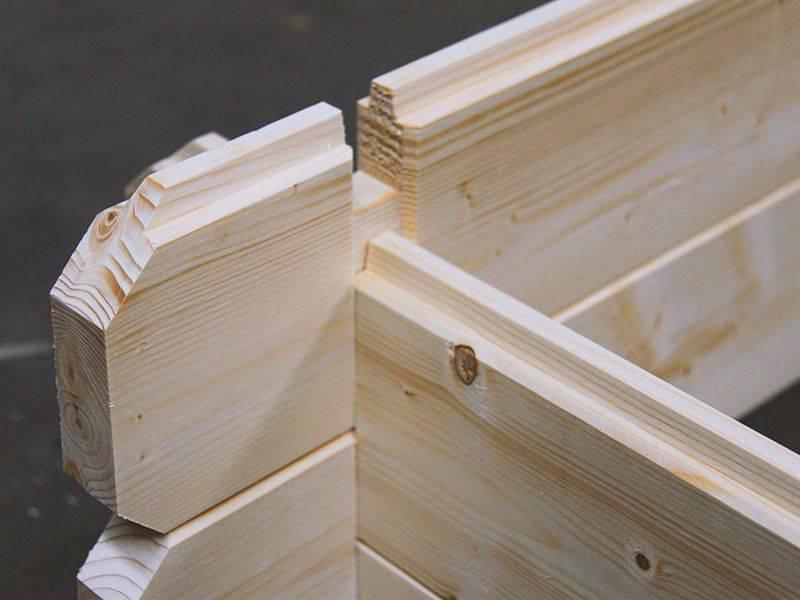 Montaggio casetta in legno Hortum